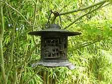 Metal Japanese lantern