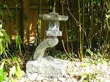 Rankei waterfront Japanese lantern
