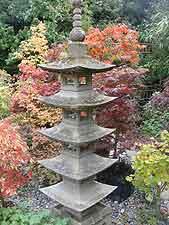 Photo of stone pagoda