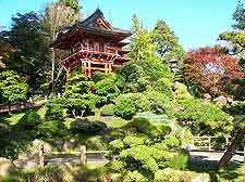 Photo of Japanese gardens in San Francisco
