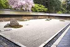 Image of the Ryoan Ji, Kyoto Zen garden