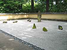 Zen garden picture, taken at the Portland Japanese Garden